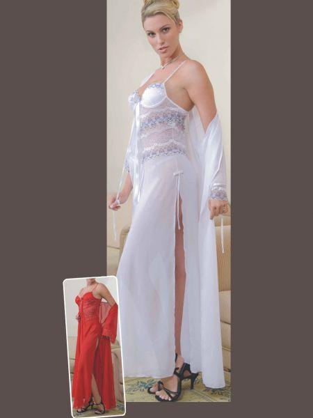 Camisola longa com renda - Atelliê das Noivas